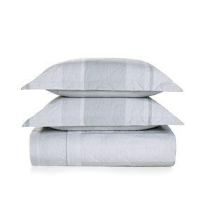 Cobre-Leito-King-Karsten-com-2-Porta-Travesseiros-180-Fios-Percal-Marfino