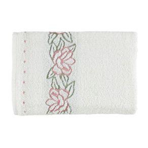 Toalha-de-Banho-Karsten-Fio-Cardado-Dalia-Branco-Rosa-Branco