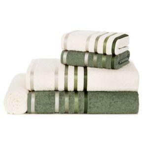 Jogo-de-Banho-Karsten-Fio-Penteado-5-Pecas-Lumina-Ivory--Verde-Bonsai--Verde
