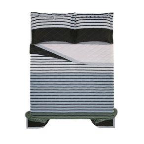 Cobre-Leito-Queen-Karsten-com-2-Porta-Travesseiros-150-Fios-Percal-Colorato