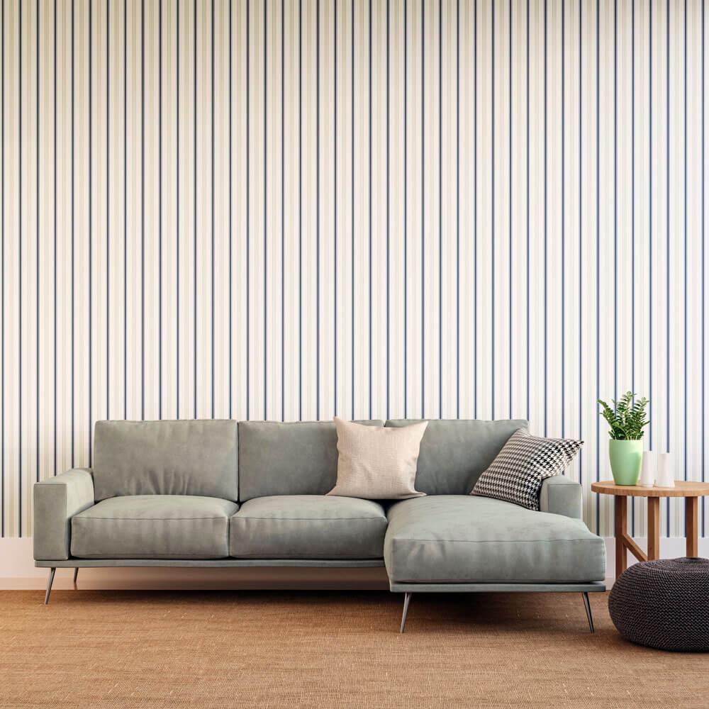Tecido para Parede Karsten Wall Decor Sossego Azul