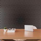 Tecido-para-Parede-Karsten-Wall-Decor-Entrelacos-Preto