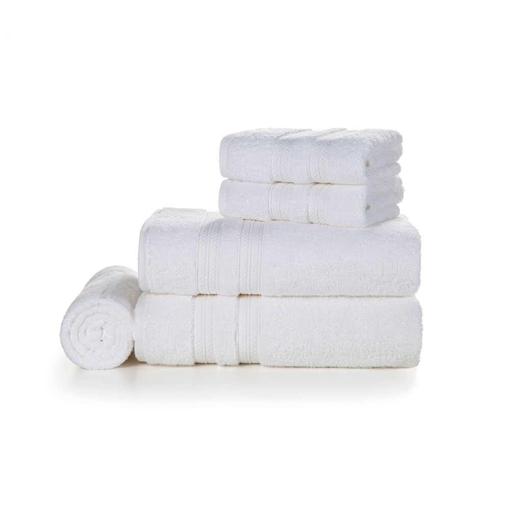 Jogo-de-Banho-Karsten-100--Algodao-5-pecas-Unika-Branco