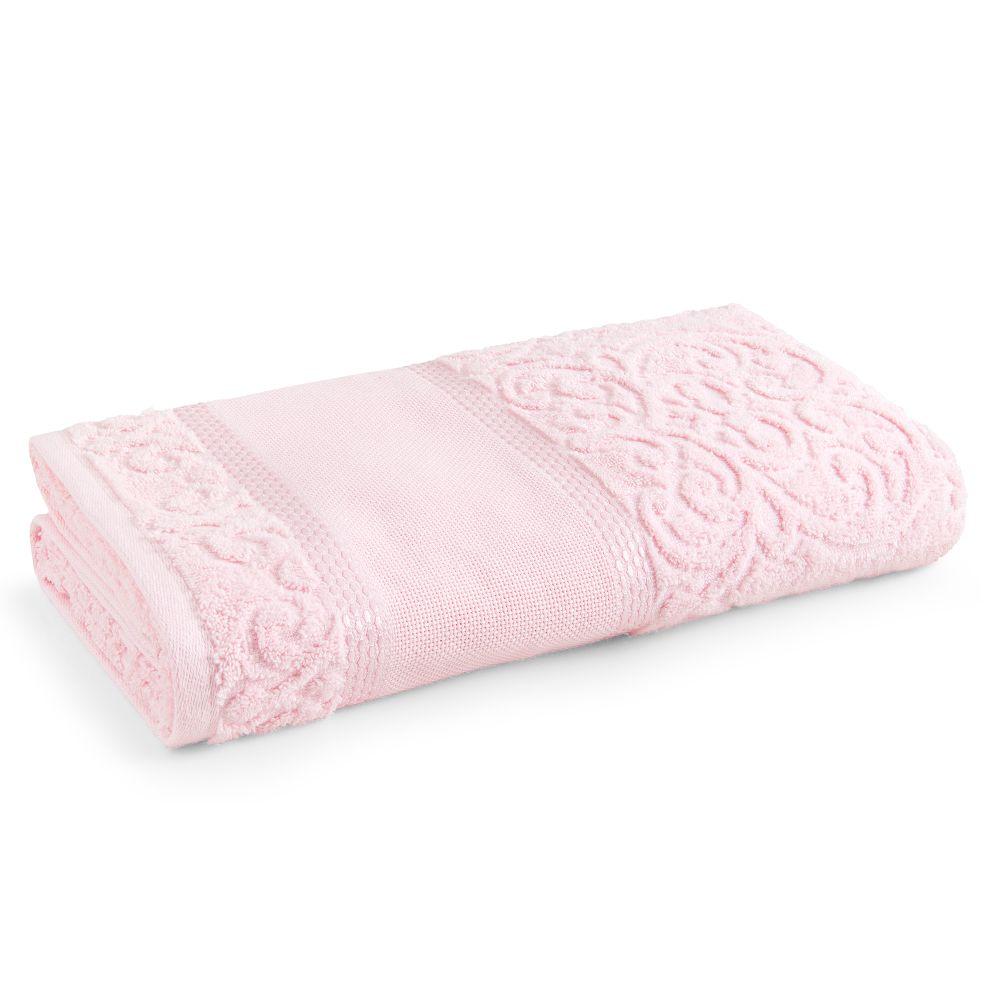 Toalha-de-Banho-para-Bordar-Karsten-Melina-II-Rosa-Quartzo