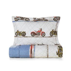 Cobre-Leito-Casal-Karsten-com-2-Porta-Travesseiros-180-Fios-Percal-Aventura