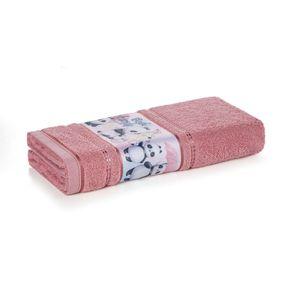 Toalha-de-Rosto-Infantil-Fio-Cardado-Karsten-Lia-Lady-Pink
