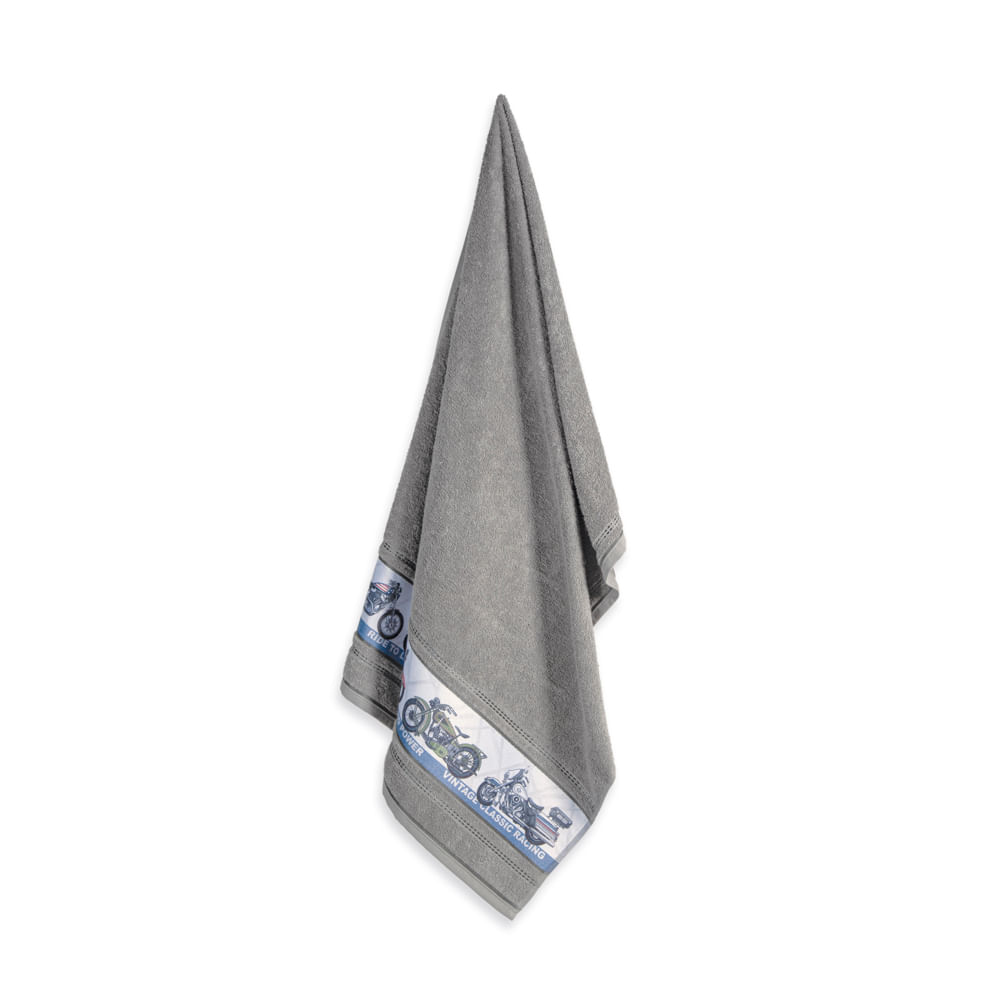 Toalha-de-Banho-Infantil-Fio-Cardado-Karsten-Aventura-Cinza-Steel