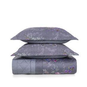 Cobre-Leito-Queen-Karsten-com-2-Porta-Travesseiros-270-Fios-Cetim-Malva