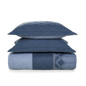 Cobre-Leito-King-Karsten-com-2-Porta-Travesseiros-150-Fios-Percal-Valentino