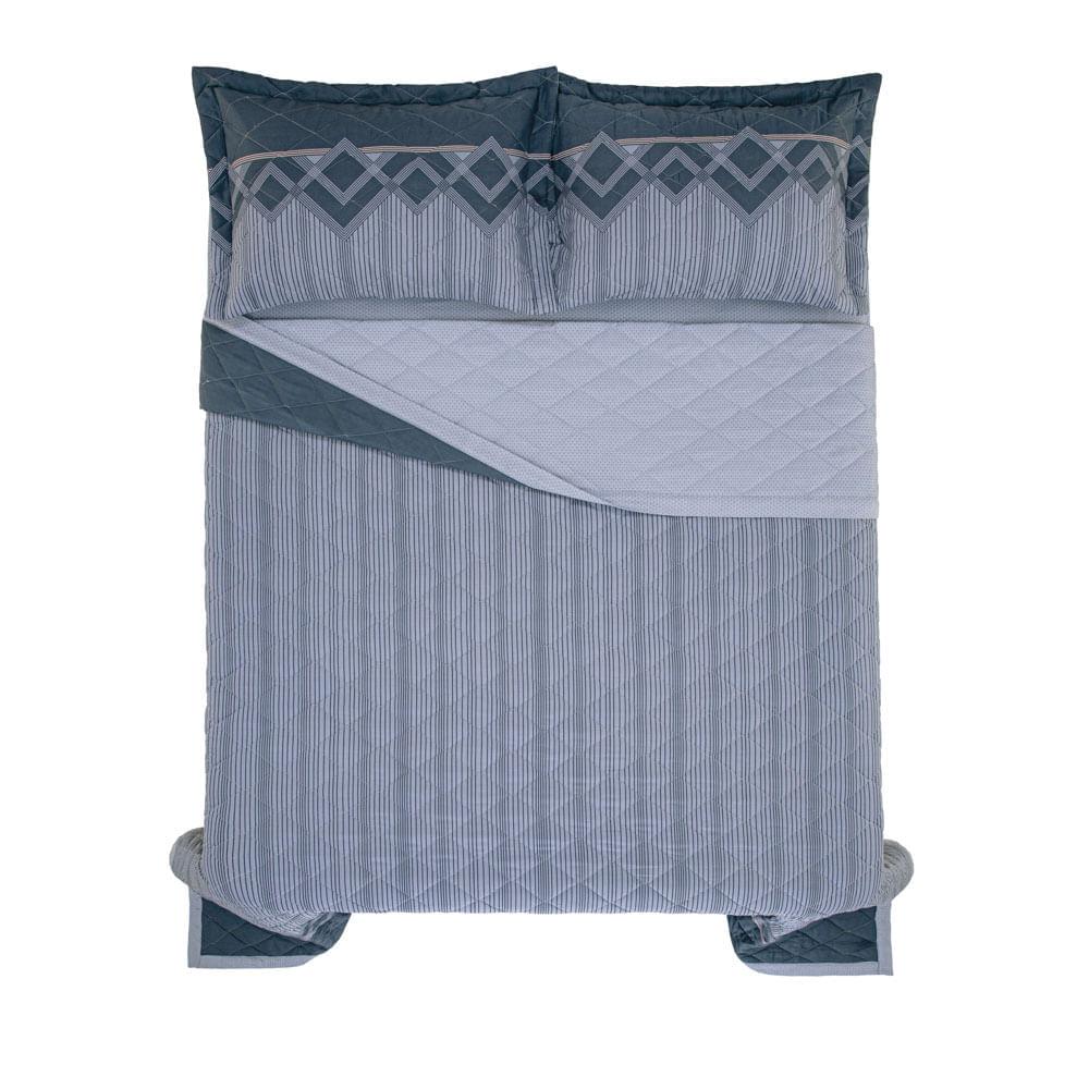 Cobre-Leito-Queen-Karsten-com-2-Porta-Travesseiros-150-Fios-Percal-Valentino