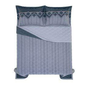 Cobre-Leito-Casal-Karsten-com-2-Porta-Travesseiros-150-Fios-Percal-Valentino