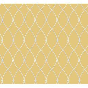 Tecido-para-Parede-Karsten-Wall-Decor-Entrelacos-Amarelo