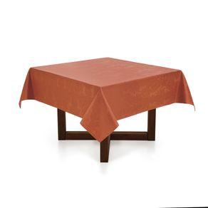 Toalha-de-mesa-Quadrada-Karsten-8-lugares-Sempre-Limpa-Tropical-Terracota