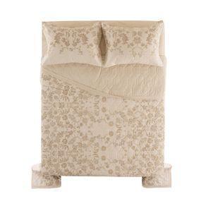 Cobre-Leito-Queen-Karsten-com-2-Porta-Travesseiros-180-Fios-Percal-Vito