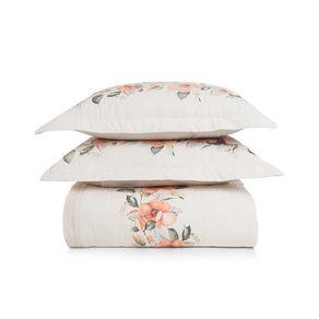 Cobre-Leito-Queen-Karsten-com-2-Porta-Travesseiros-180-Fios-Percal-Lidia