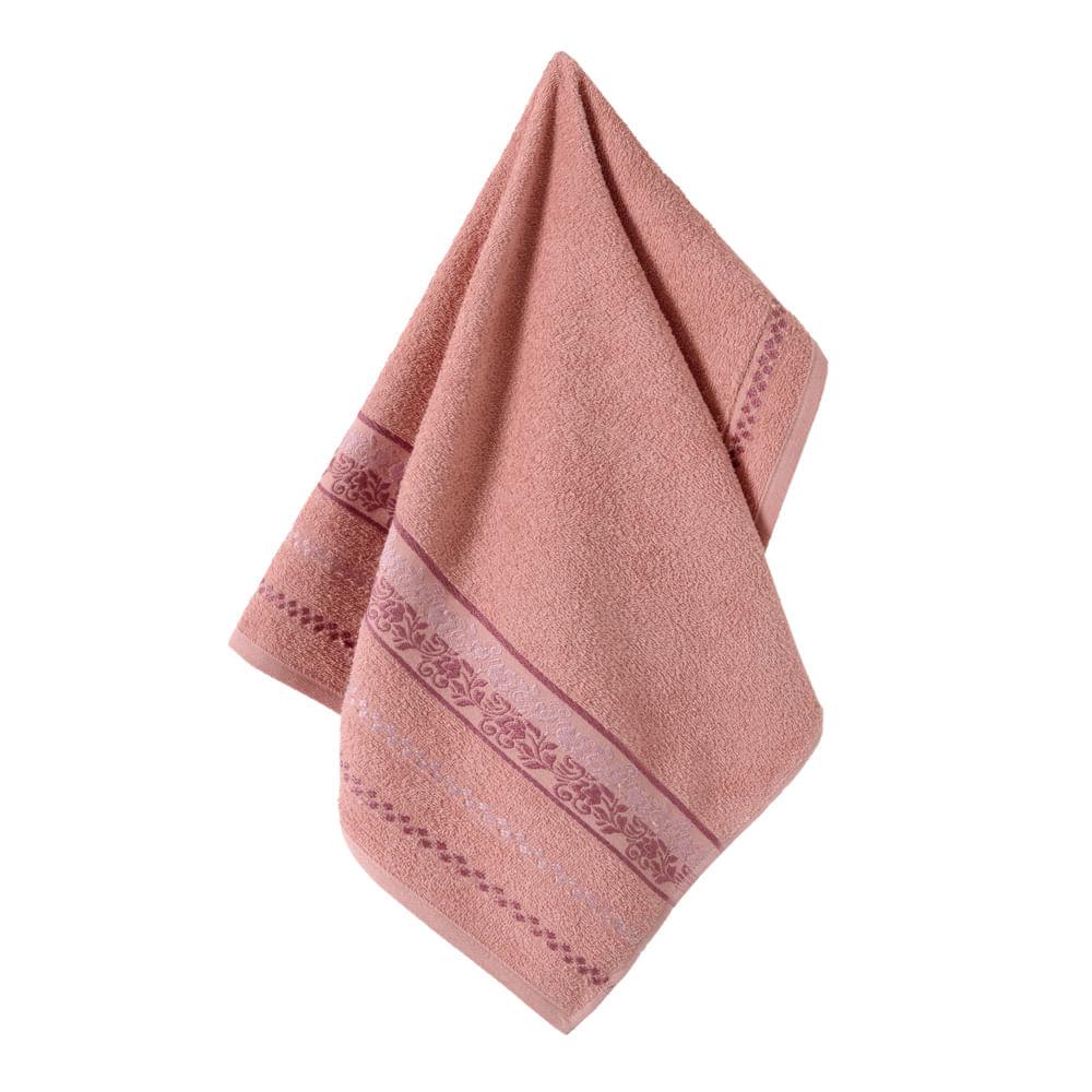 Toalha-de-Rosto-Karsten-Fio-Cardado-Clarissa-Lady-Pink--Rose