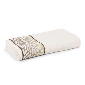 Toalha-de-Rosto-Karsten-Fio-Cardado-Marsele-Ivory--Marrom