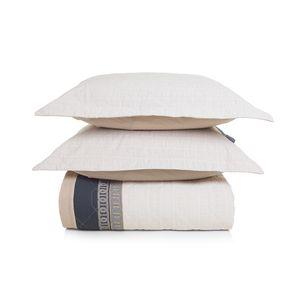 Cobre-Leito-Queen-Karsten-com-2-Porta-Travesseiros-180-Fios-Percal-Malmo
