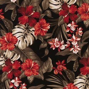 Tecido-Acquablock-Karsten-Impermeavel-Maui-Preto-Branco