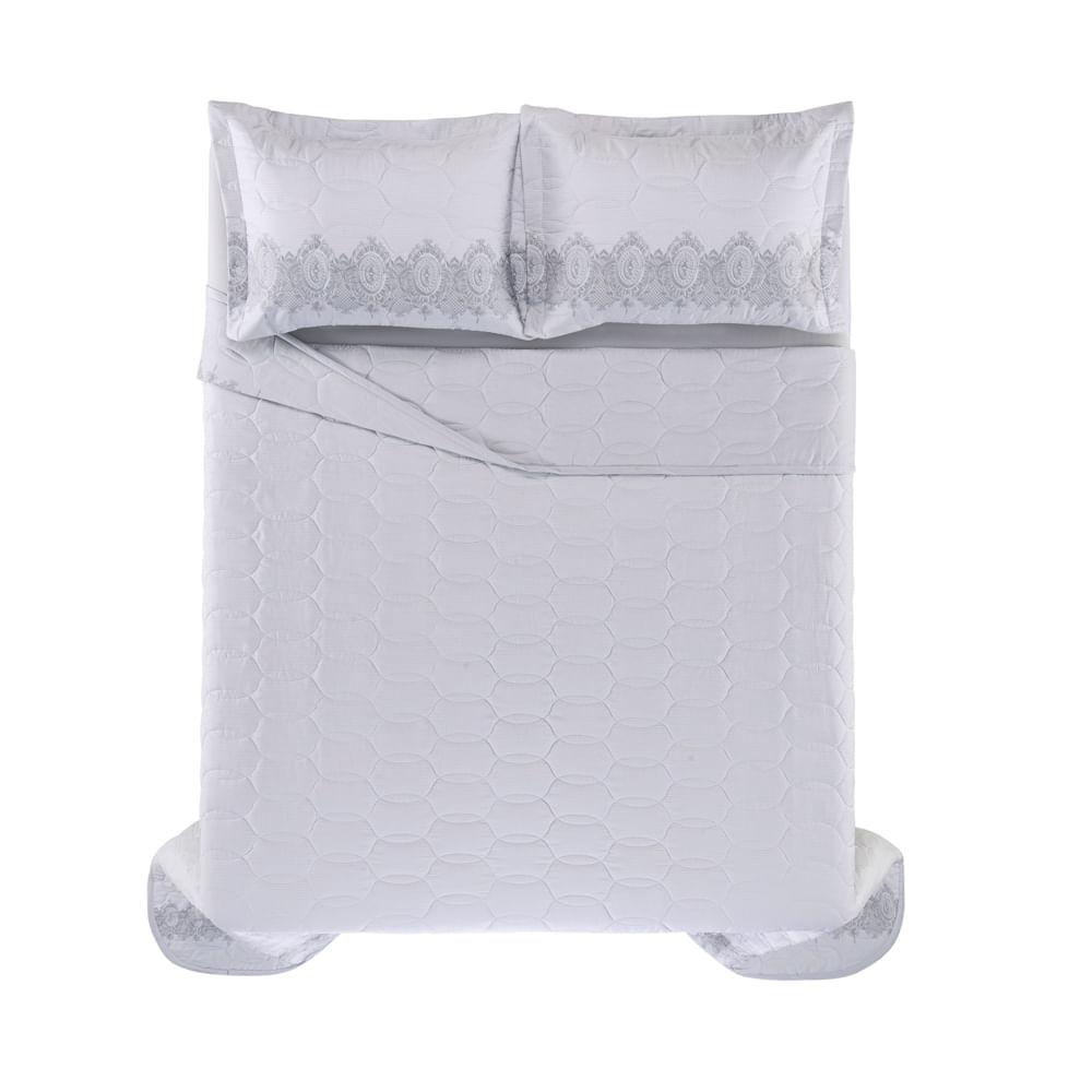 Cobre-Leito-Casal-Karsten-com-2-Porta-Travesseiros-300-Fios-Cetim-Carla
