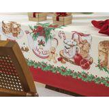 Toalha-de-mesa-de-Natal-Redonda-Karsten-4-Lugares-Segredos-de-Receita