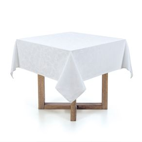 Toalha-de-mesa-Quadrada-Karsten-4-lugares-Jacquard-Arbela-Branco