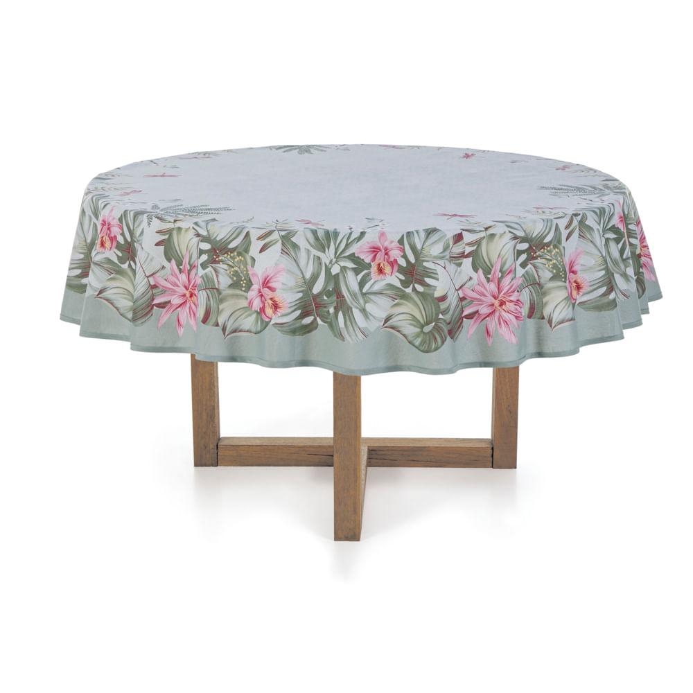 Toalha-de-mesa-Redonda-Karsten-6-lugares-Sempre-Limpa-Jardina