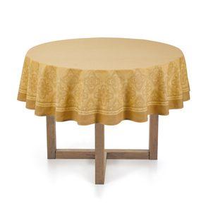 Toalha-de-mesa-Redonda-Karsten-4-lugares-Sempre-Limpa-Ornate