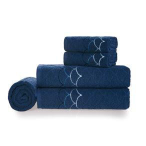 Jogo-de-Banho-Karsten-Fio-Cardado-5-Pecas-Muriel-Naval--Azul