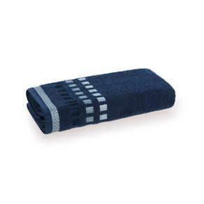 Toalha-de-Rosto-Karsten-Fio-Cardado-Calera-Naval--Azul