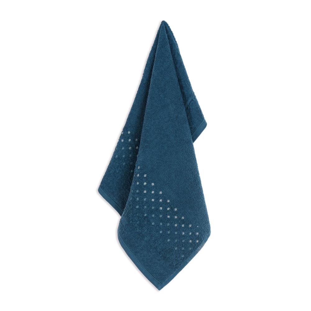 Toalha-de-Rosto-Karsten-Fio-Cardado-Nara-Baltico--Azul