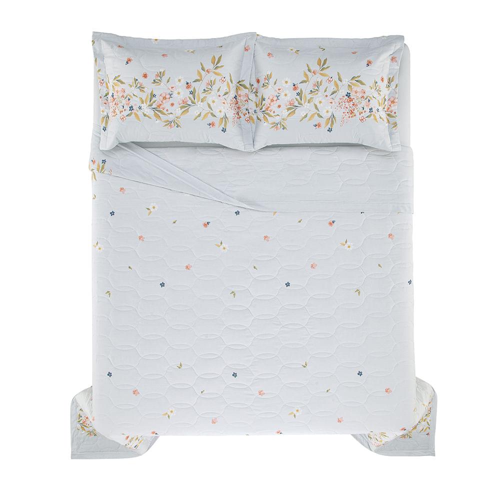 Cobre-Leito-Queen-Karsten-com-2-Porta-Travesseiros-150-Fios-Dominique