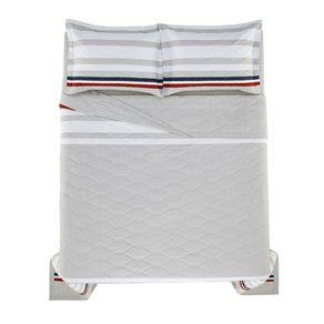 Cobre-Leito-Casal-Karsten-com-2-Porta-Travesseiros-150-Fios-Duncan