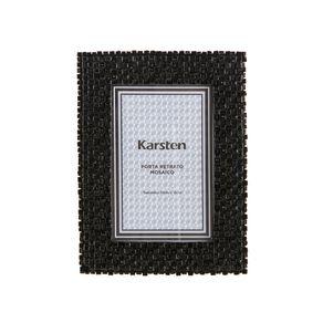 Porta-Retrato-Karsten-Mosaico-Preto-10-x-15cm