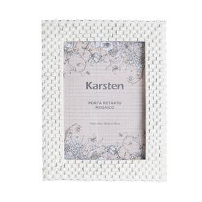 Porta-Retrato-Karsten-Mosaico-Branco-15-x-18-cm