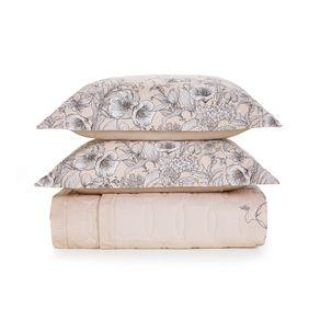 Cobre-Leito-King-Karsten-com-2-Porta-Travesseiros-180-Fios-Livie