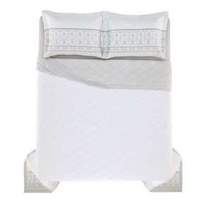 Cobre-Leito-Casal-Karsten-com-2-Porta-Travesseiros-270-Fios-Cetim-Allen