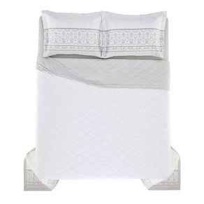 Cobre-Leito-Queen-Karsten-com-2-Porta-Travesseiros-270-Fios-Cetim-Allen