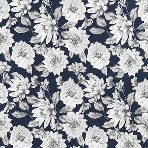 Tecido-para-Decoracao-Karsten-Essence-Crisantemo-Marinho