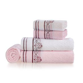 Jogo-de-Banho-Karsten-Fio-Penteado-5-Pecas-Melissa-Marshmallow--Branco--Rosa