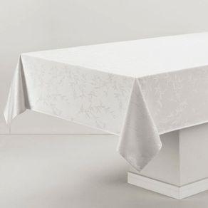 Toalha-de-mesa-Retangular-Karsten-6-lugares-Celebration-Verissimo-Branca-Branco